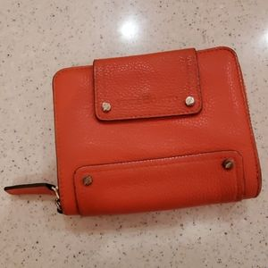Vince Camuto Pebbled Leather Wallet